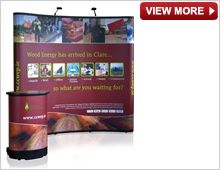 Popup Backdrop Display Stands from Creo, official distributor for Nomadic Display, provide a wide range of exhibition and popup display solutions. Exhibition Stands, Popup, Graphic Design, Visual Communication, Pop Up