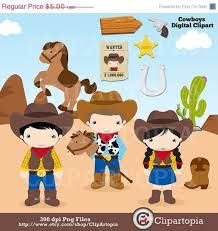 Image result for little cowboy clipart