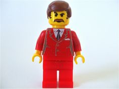 Lego Ron Burgundy of Anchorman
