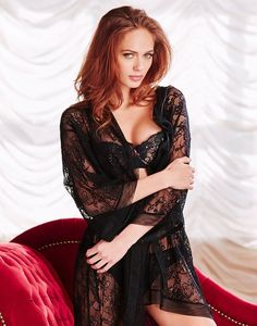 c8e73d2bec Love love love this black lace robe