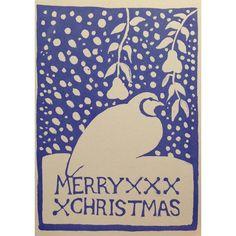 #cambridgeimprint #christmascard #christmas #partridge #andapartridgeinapeartree #apartridgeinapeartree #studio #madeinengland