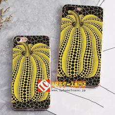 iphone7ケース日系カボチャ水玉柄7plusケース ポップアート草間彌生スタイル携帯6sカバー