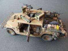 M1025 based GMV-S Dumvee, OEF - Tamiya/Pro Art Models, 1:35
