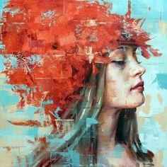 Catherine La Rose ~ The Poet of Painting: Silvio PORZIONATO ✿