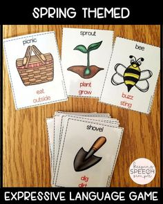 If you are looking for some different ways to have students practice a variety of language skills in a fun and motivating context? If so, this game is for you! This game is versatile enough to use with elementary and middle school students. This game is also popular in ELL and ESL classrooms. This game is a fun activity to use with speech/language students during push-in services. Click here to see more!