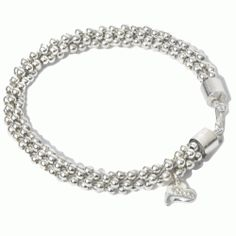 Continuous Sterling Silver Beaded Bracelet Includes instructions