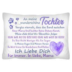 DE An meine Tochter Ich liebe dich für immer In Liebe, Mama