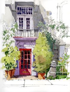Workshop in Old Montreal | Urban Sketchers