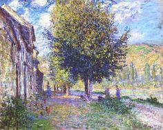 Berge de la Seine à Lavacourt (C Monet - W 499)1878