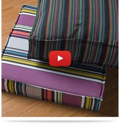 How to Make a French Mattress Style Cushion Video product-image The post How to Make a French Mattress Style Cushion Video appeared first on Upholstery Ideas. French Mattress Cushion Diy, Diy Cushion Covers, Outdoor Cushion Covers, Patio Cushions, Floor Cushions, Giant Floor Pillows, Sewing Pillows, Diy Pillows, Reupholster Furniture