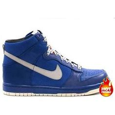 huge selection of 808d8 76fdd Mens Nike Dunk High Be True Back To School Blue