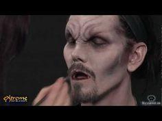 Vampire Makeup How-to, Dark Vampire Halloween Makeup Tutorial