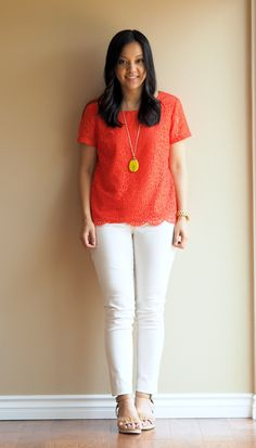 Putting Me Together: Style Help: Orange Red Color Combos