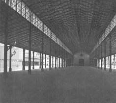 Original Schrannenhalle, 1858