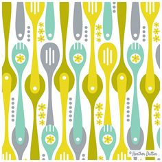 Kitchenette | Heather Dutton #spoonflower