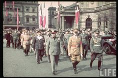Third Reich in Color Adolf Hitler LIFE Image