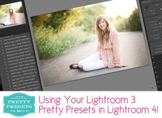 3 Simple Steps to Using Your Lightroom 3 Pretty Presets in Lightroom 4 | Pretty Presets for Lightroom | www.prettypresets.com