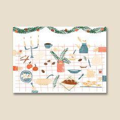 Vianočný stôl Advent Calendar, Holiday Decor, Home Decor, Decoration Home, Room Decor, Interior Decorating