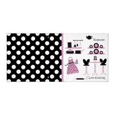 Shop Whimsical Pink, Black, & White Polka Dot Recipe 3 Ring Binder created by Hannahscloset. 3 Ring Binders, Binder Design, Custom Binders, Pink Black, Unique Weddings, Whimsical, Best Gifts, Polka Dots, Lettering