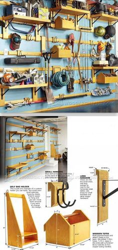 Modular Garage Storage Plans - Workshop Solutions Projects, Tips and Tricks | WoodArchivist.com