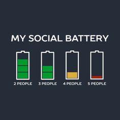 Funny Pun: My social battery Tech humor - Funny Kids Shirts - Ideas of Funny Kids Shirts - Funny Pun: My social battery Tech humor Introvert Personality, Introvert Quotes, Introvert Problems, Introvert Funny, Personality Types, Am I An Introvert, Antisocial Quotes, Introvert Vs Extrovert, Funny Puns