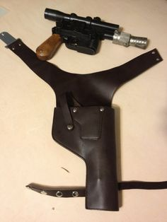 Geek Grrl Crafts: Han Solo Costume: Crafting the Blaster Holster
