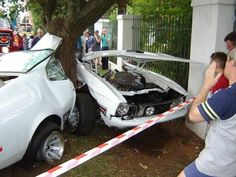Car Crash Ford Mustang Mach 1 Destroyed In South Africa A Classic Was Recently Involved High Speed Which Saw