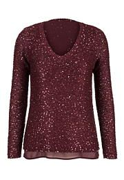 2 in 1 high-low sequin sweater - maurices.com On my wish list #wishpinwinsweepstakes #discovermaurices