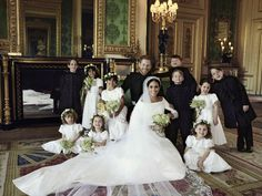 Meghan Markle and Prince Harry's Official Wedding Portraits Are Here and They're Flawless- HarpersBAZAAR.com