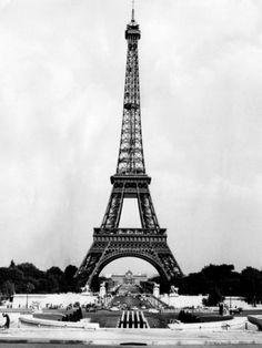 Eiffel Tower, Paris France, 1964