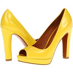 Spring shoes! Marc by Marc Jacobs Classic Open Toe Platform Pump