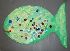 Summer Crafts For Preschoolers | Crafts for Kids Blog » Tutorial : Toddler Fish Craft