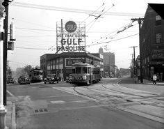 1940 pic of the intersection of Peachtree, West Peachtree and Baker Streets.  Browse and order prints from our collection.