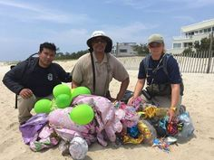 Please stop releasing balloons into the air! They're deadly to all wildlife, particularly marine life