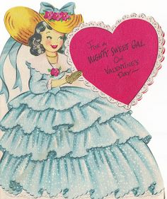 Vintage Greeting Card - Valentine