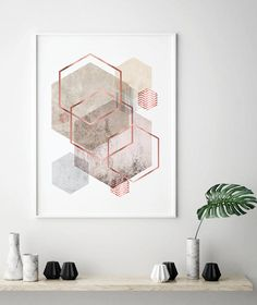 Geometric Art Printable Art Downloadable Prints Geometric