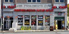 Joe Frazier's Gym, Philadelphia, Pennsylvania  // 2012 list of America's 11 Most Endangered Historic Places
