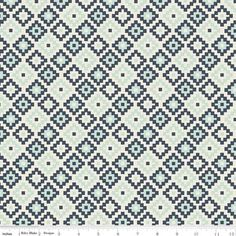 Designs by Dani - Woodland Spring - Woodland Geometric in Navy