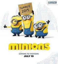 下年暑假一班Minions又再上大銀幕!真係好想快啲睇呀!