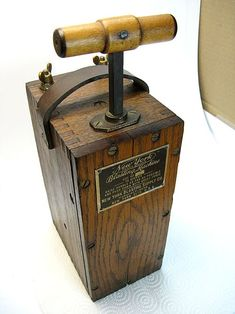[TBQL_4184]  Blasting Box   <pinner_seo_name>'s collection of 30+ dynamite ideas in 2020   Vintage Miners Fuse Box      Pinterest