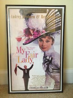 My Fair Lady Movie Poster. I need that