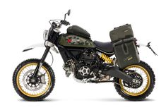 Ducati Scrambler Desert Sled - World Traveler Kit