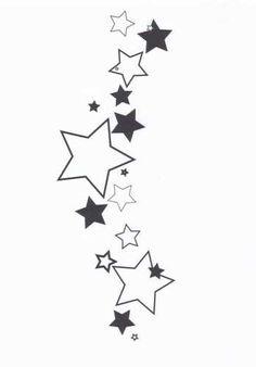 tatuaże wzory gwiazdki 792
