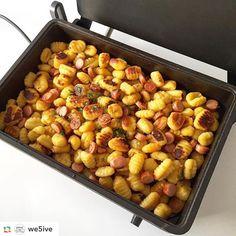 Gnocchi und Wiener Würste  https://www.instagram.com/p/BNjLHwoB6wa/?taken-by=kochvergnuegen