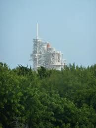 Cape Canaveral, Fl.  We got to see Atlantis on the launchpad just days before its final liftoff!