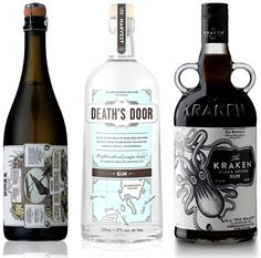 Wine and Spirits packaging, I love Kraken, both the design and the product. :)