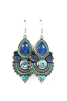 boho earrings, bohemian jewellery