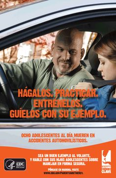 Hablamos español! We have free materials in Spanish available. | Parents Are the Key to Safe Teen Driving | CDC Injury Center