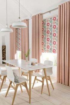 Add a pop of pastel to your home to help bring it to life. Our Freyja Coral Roman blinds are perfect for adding a Scandi vibe to your interiors. Team with a neutral colour scheme to really let your window dressings do the talking!