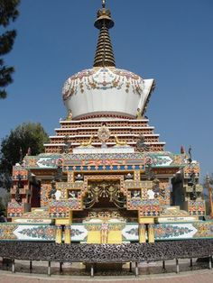 Kopan Monastery - where I will stay in Kathmandu!